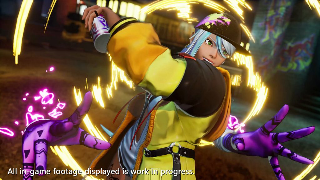 The King of Fighters 15 - Isla