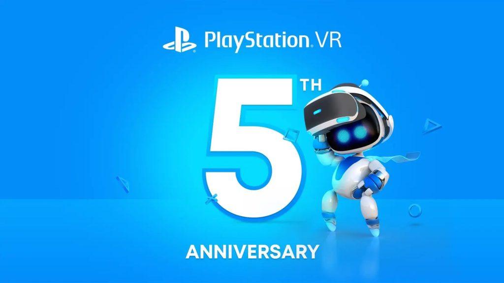 PlayStation VR 5th anniversary