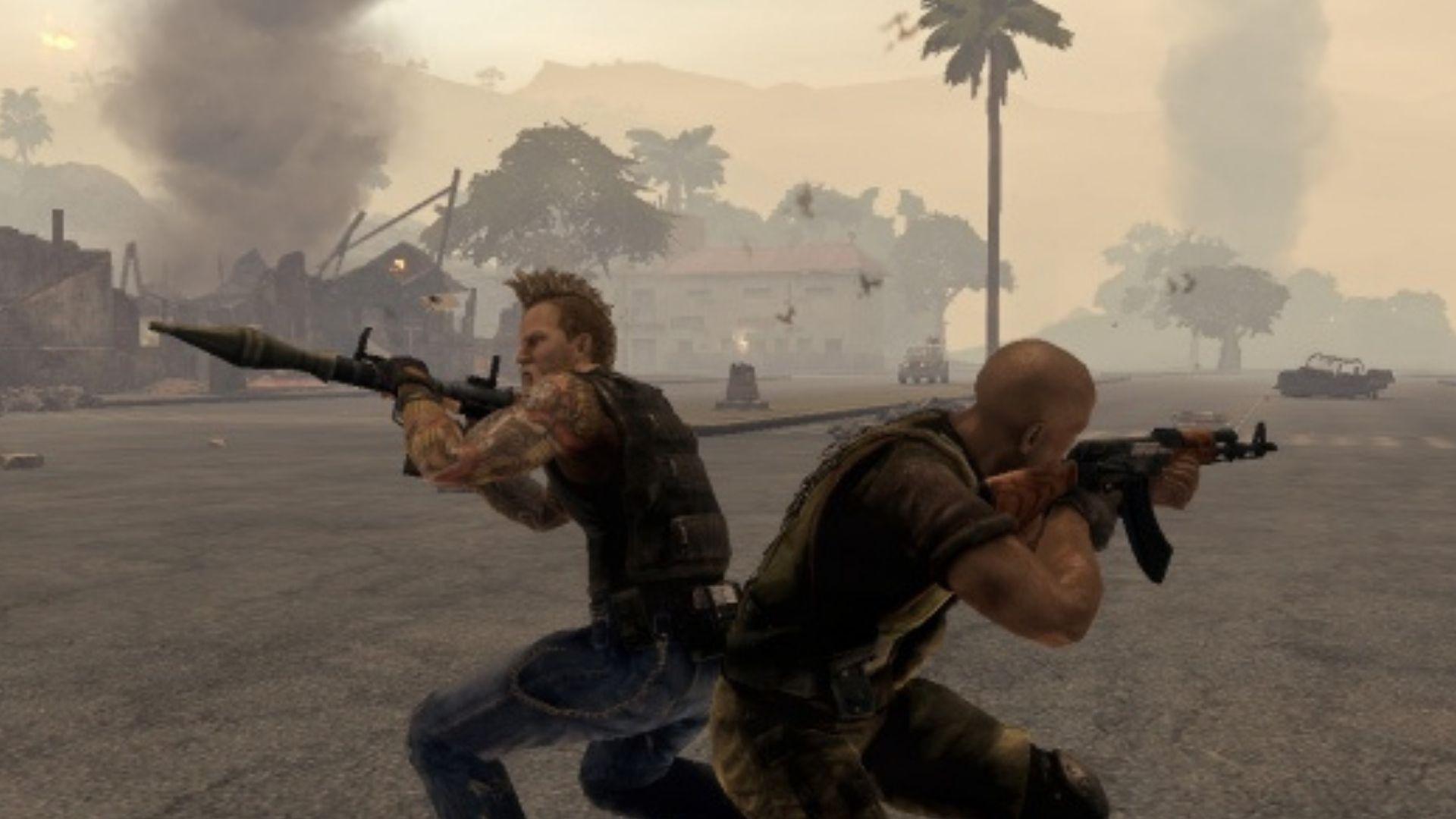 mercenaries gameplay